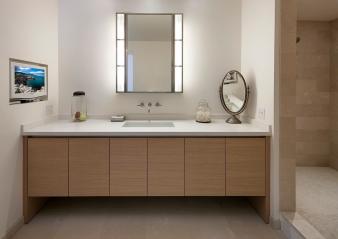 Modern & Elegant Men's Bathroom. Image: 5