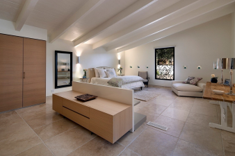 Modern & Elegant Men's Bedroom. Image: 4
