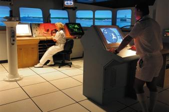 Royal NZ Navy Bridge Simulator. Image: 4