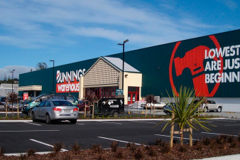Bunnings North Shore. Image: 8