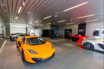 Giltrap McLaren Showroom. Image: 1