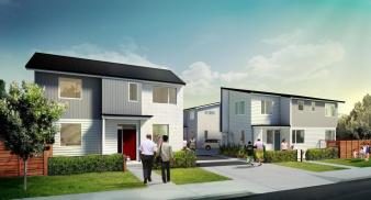 Housing New Zealand – Sharp 3 Project. Image: 1