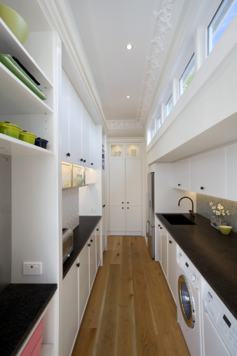 Mount Eden Kitchen Pantry and Laundry. Image: 5