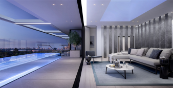 Penthouse Pool and Lounge. Image: 1