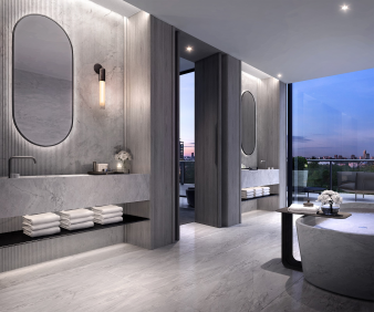 Penthouse Bathroom. Image: 2