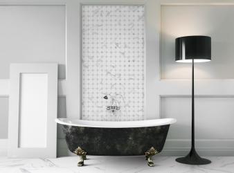 Tile trends 1 – Luxurious porcelain. Image: 1