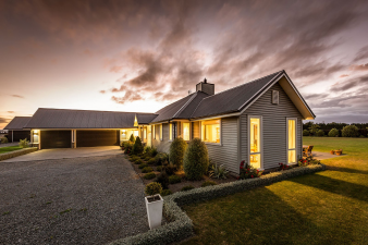 Envira Bevel Back Weatherboards - Lovely Spacious New Home. Image: 5