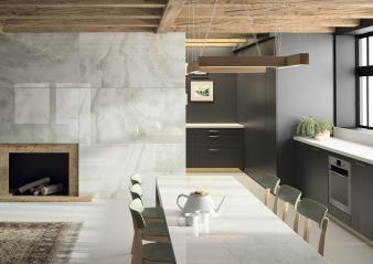 Kitchen front Fiord + table Glacier Dekton® XGloss Natural (HR). Image: 8