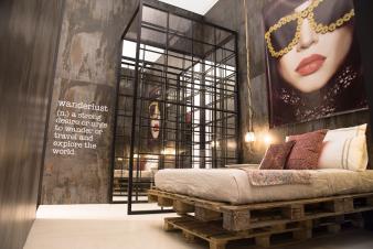 Dekton Trilium Walls Cosentino Salone Milano 16 - The London Loft. Image: 2