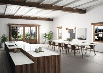 Kitchen Worktop Tundra Dekton XGloss Natural (HR). Image: 13