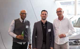 Mark Graham, Maurizio Pesciantini and Carl Whiteman (Casa Italiana). Image: 12