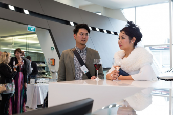 Sean Wu (Wood Partners & Consultants) and Cherry Shan. Image: 11