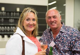 Joanna Dawson (Bath Co.) and Mark Asquith. Image: 64