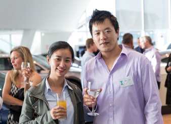 Nicky Wang (Chancellor Construction) and Derrick Wang (Wallplus). Image: 43