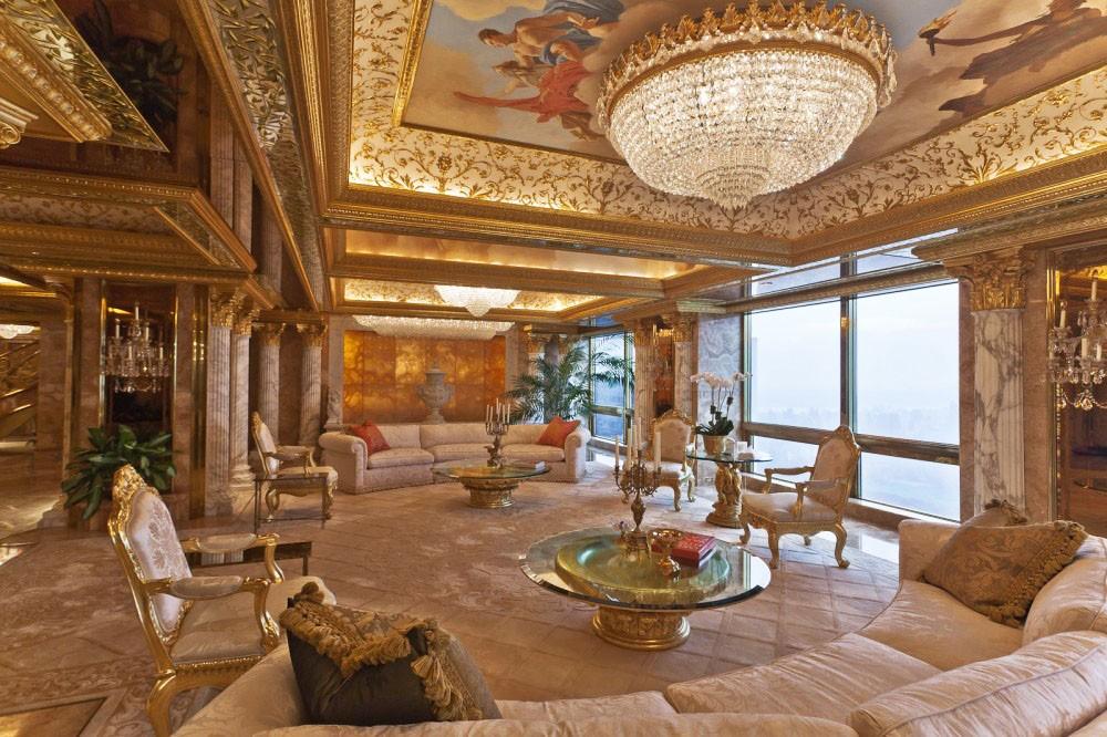 Donald Trump's Manhattan Penthouse