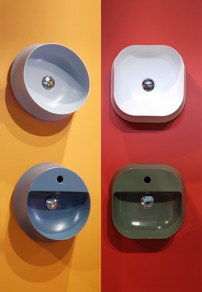 SHARP vanity basins collections – the family grows and wins ADI CERAMICS DESIGN AWARD 2016