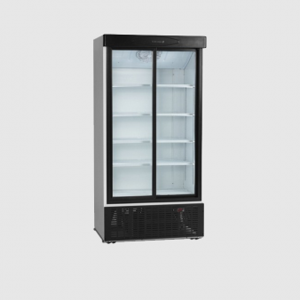 Tefcold FS1002S 730 Ltr Double Sliding Door Fridge. Image: 1