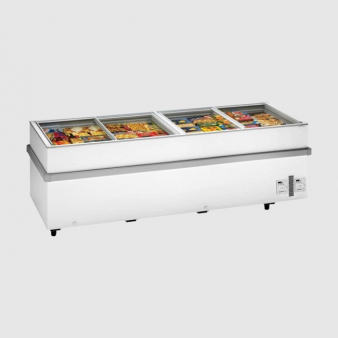 Arcaboa 1100CHV 2.5m Wide Jumbo Chest Freezer - 1032 Ltr. Image: 3