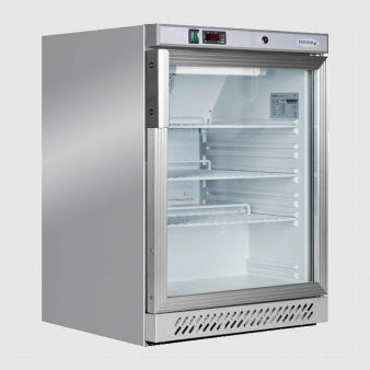 Tefcold UR200GS Undercounter Glass Door Fridge 200 Ltr. Image: 2