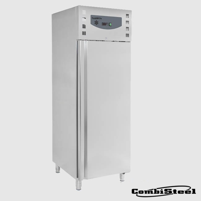Combisteel 7950.3665: 600 Ltr Stainless Steel Single Door Freezer