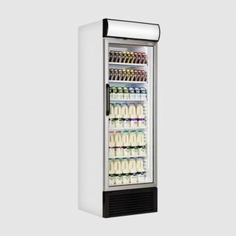 Tefcold FSC1450 Upright Glass Door Fridge 438 Ltr. Image: 5