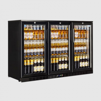 Interlevin EC30H Low Energy Triple Door Bottle Cooler 340 Ltr. Image: 6