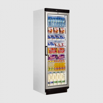 Tefcold FS1380 372 Ltr Single Glass Door Upright Fridge. Image: 5