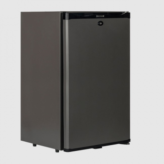 Tefcold TM52 Black Solid Door Minibar Fridge 51Ltr. Image: 1