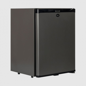 Tefcold TM42 Black Solid Door Minibar Fridge 41Ltr. Image: 3