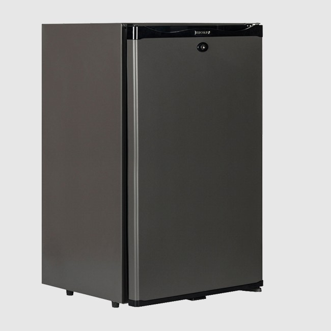 Tefcold TM52 Black Solid Door Minibar Fridge 51Ltr