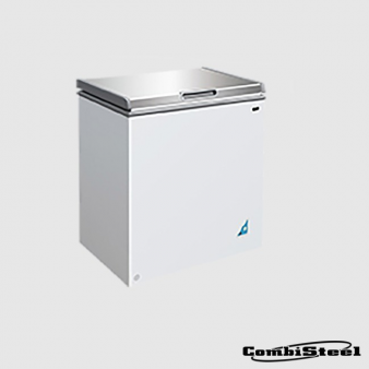 Combisteel 7450.0185 148 Ltr SS Cover Chest Freezer. Image: 1