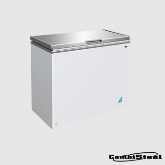 Combisteel 7450.0190 201 Ltr SS Cover Chest Freezer. Image: 2