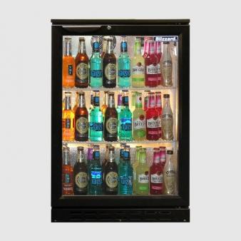 Blizzard BAR1 Single Door Bottle Cooler 130 Bottles. Image: 3