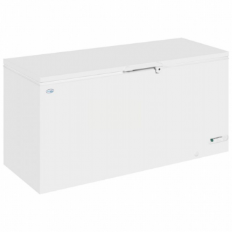 Interlevin LHF620 1.7m Wide Chest Freezer with White Lid - 607 Ltr. Image: 3