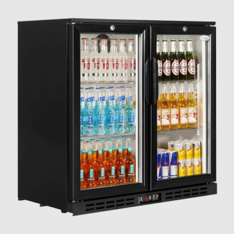 Interlevin PD20H Hinged Double Door Bottle Cooler 210 ltr. Image: 2
