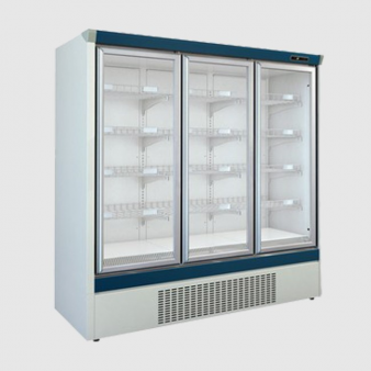 Mafirol 1975(w)mm Upright Triple Glass Door Freezer: BA18FV-BT. Image: 3