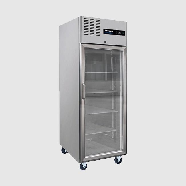 Blizzard BL1SSCR 550 Ltr Glass Door Freezer