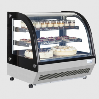 Interlevin LCT750C 0.7m Wide Refrigerated Counter Top Display. Image: 2