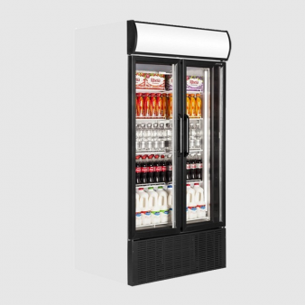 Tefcold FSC1000H Hinged Double Door Display Chiller 796 Ltr. Image: 1