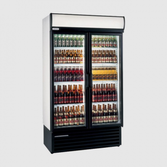 Staycold HD1140 Refrigerated Double Glass Door Merchandiser 920 Ltr. Image: 3