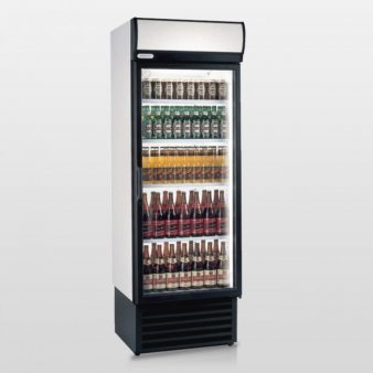 Staycold HD690 Single Glass Door Upright Bottle Cooler 525 Ltr. Image: 1