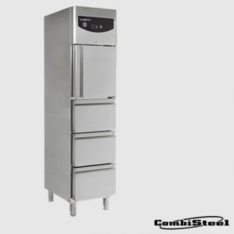 Combisteel 7450.0704 : 350 Ltr Single Door Refrigerator With 3 Drawers. Image: 2