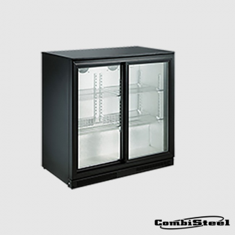 Combisteel 7455.1315 : 198 Ltr Double Sliding Door Back Bar Cooler. Image: 2