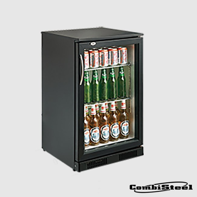 Combisteel 7455.1300 : 98 Ltr Single Door Back Bar Cooler