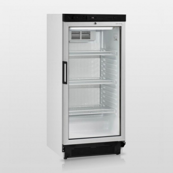 Tefcold FS1220: 215 Ltr Upright Single Glass Door Fridge. Image: 1