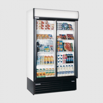 Staycold SD1140 Sliding Glass Door Display Fridge 890 Ltr. Image: 2