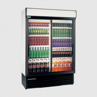 Staycold SD1360 Sliding Glass Door Display Fridge 1075 Ltr. Image: 3