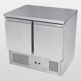 Atosa ESL3801:300 Ltr Double Door Under Counter Fridge. Image: 2