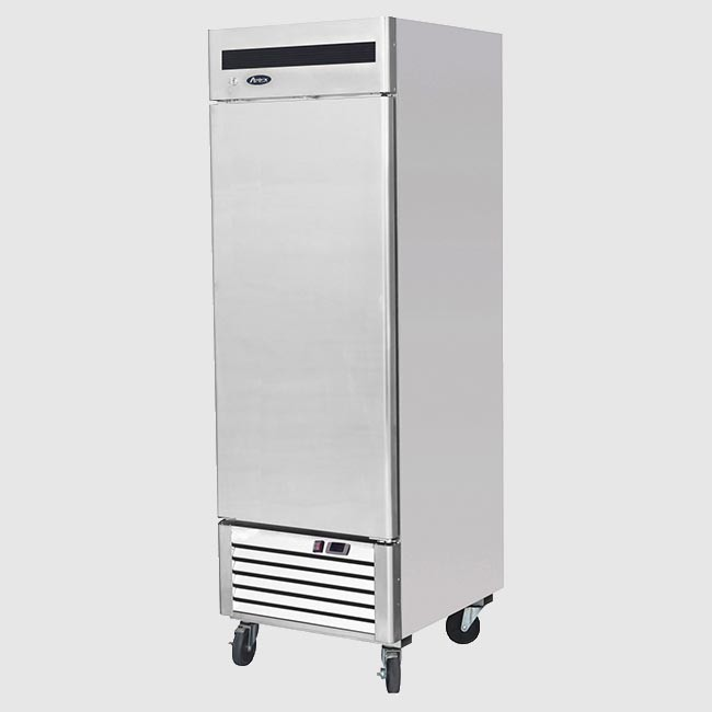 Atosa ESL3800:300 Ltr Double Door Sliding Lid Under Counter Fridge