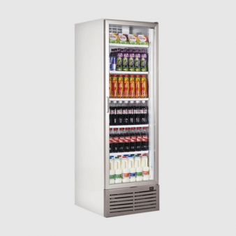 Caravell CBC401 Glass Door Display Cooler 380 Ltr. Image: 1